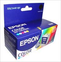 Epson T008401 Color картридж для Stylus Photo 870 картридж epson c13t07954010 для epson stylus photo 1500w голубой
