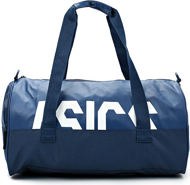 Сумка спортивная Asics Tr Core Holdall L, цвет: темно-синий. 155005-0793 asics asics tr racerback
