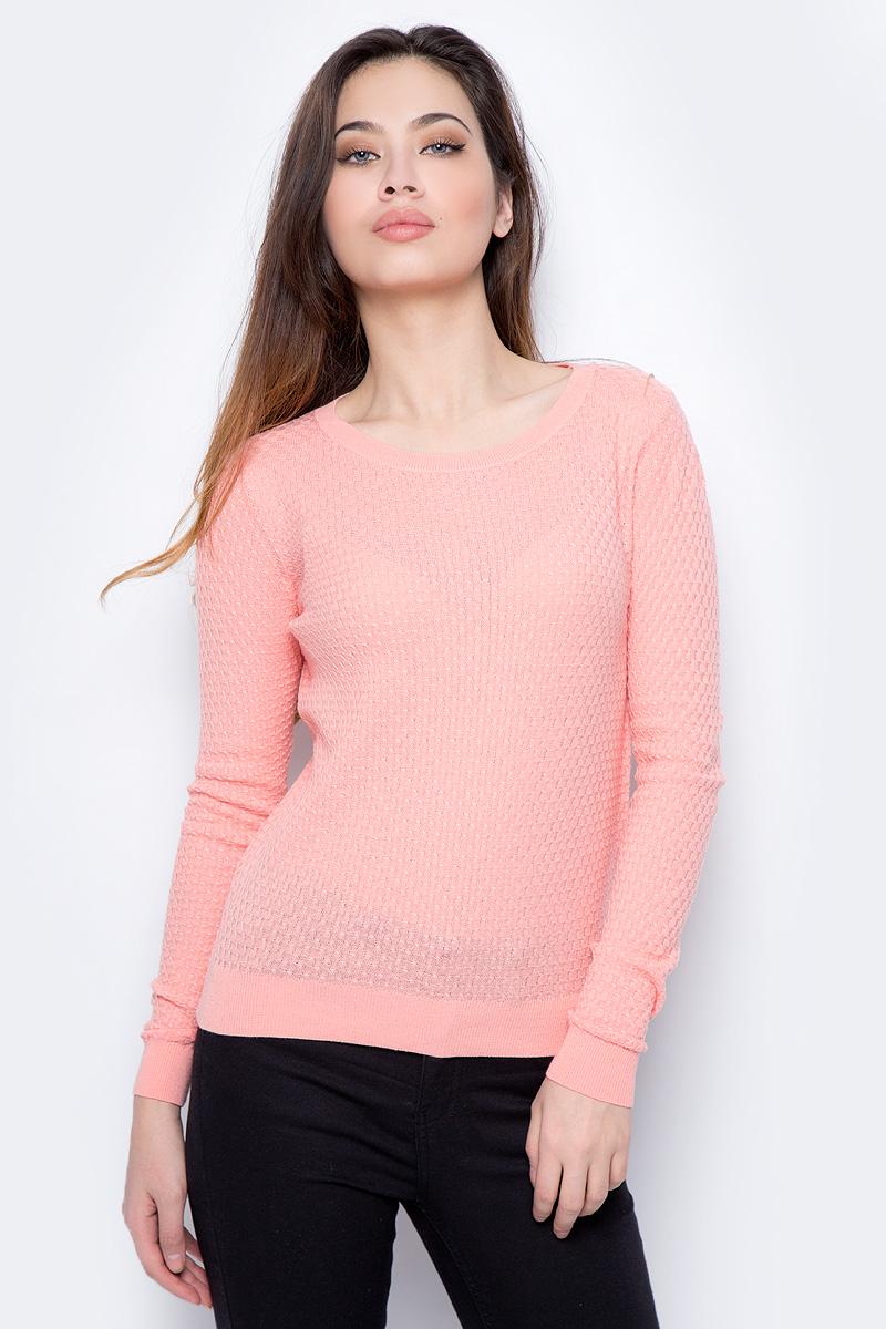 Джемпер женский Sela, цвет: персиковый. JR-114/693-8182. Размер XS (42) катушка swd проводочная 802
