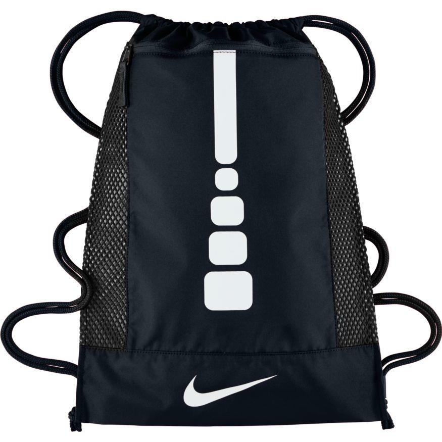Рюкзак баскетбольный Nike Hoops Elite, цвет: черныйBA5342-010Мужской баскетбольный рюкзак Nike Hoops Elite достаточно прочный для того, чтобы принести на площадку всю баскетбольную экипировку. Затягивающийся шнурок открывает доступ к основному вентилируемому отделению, в котором можно хранить как обувь, так и одежду. Вставки из сетки спереди и по бокам усиливают вентиляцию. Плотный нейлон обеспечивает прочность и одновременно мягкость внешнего слоя. Затягивающийся шнурок и плечевые лямки для регулировки варианта ношения. Большой горизонтальный карман на молнии спереди для удобного хранения. Регулируемые плечевые шнурки для комфортного ношения. Основное отделение вмешает обувь до 15 размера.