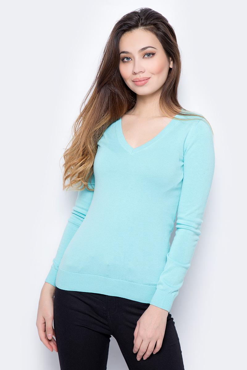 Пуловер женский Sela, цвет: ментоловый. JR-114/692-8182. Размер XL (50)