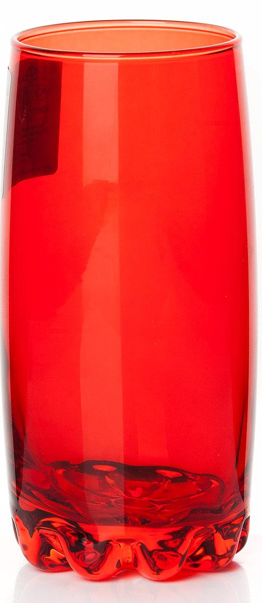 Стакан Pasabahce Энжой Рэд, 385 мл42812SLBD3Стакан Pasabahce Энжой Рэд выполнен из силикатного стекла.Стакан красного цвета.Объем - 385 мл.