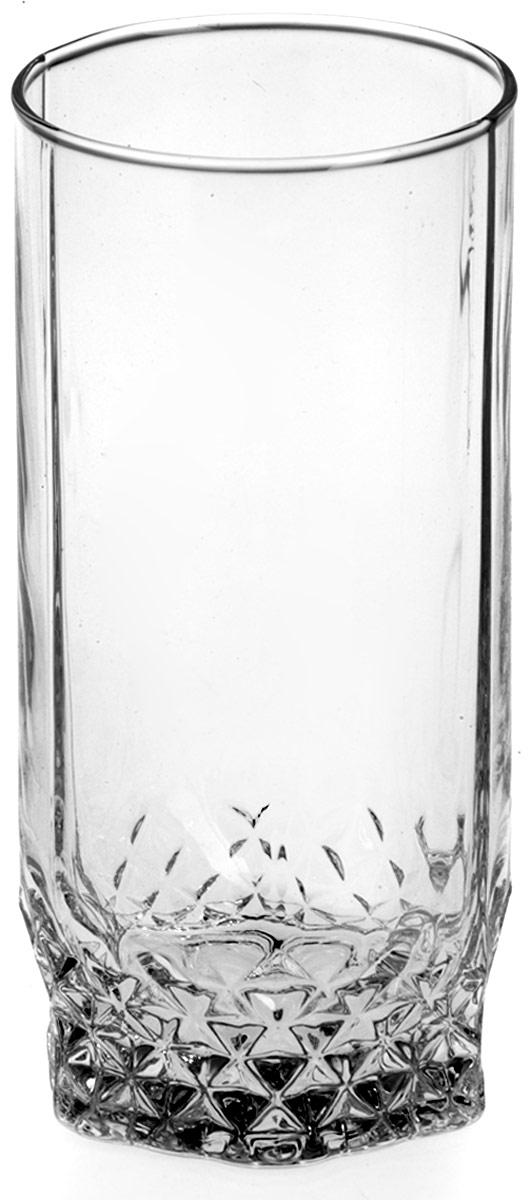 Набор стаканов для коктейлей Pasabahce Вальс, 290 мл, 6 шт набор трубочек для коктейлей кристалл с изгибом 250 шт