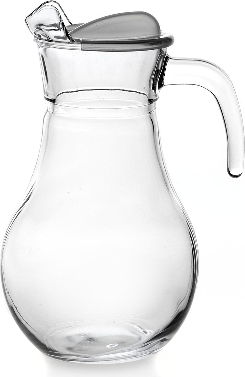 Кувшин Pasabahce Бистро, с крышкой, 1,8 л43934SLBКувшин Pasabahce, выполненный из высококачественного материала, оснащен крышкой и удобной ручкой. Изделие прекрасно подходит для подачи воды, сока, компота и других напитков. Кувшин эффектно украсит любой кухонный интерьер и станет хорошим подарком для ваших близких.