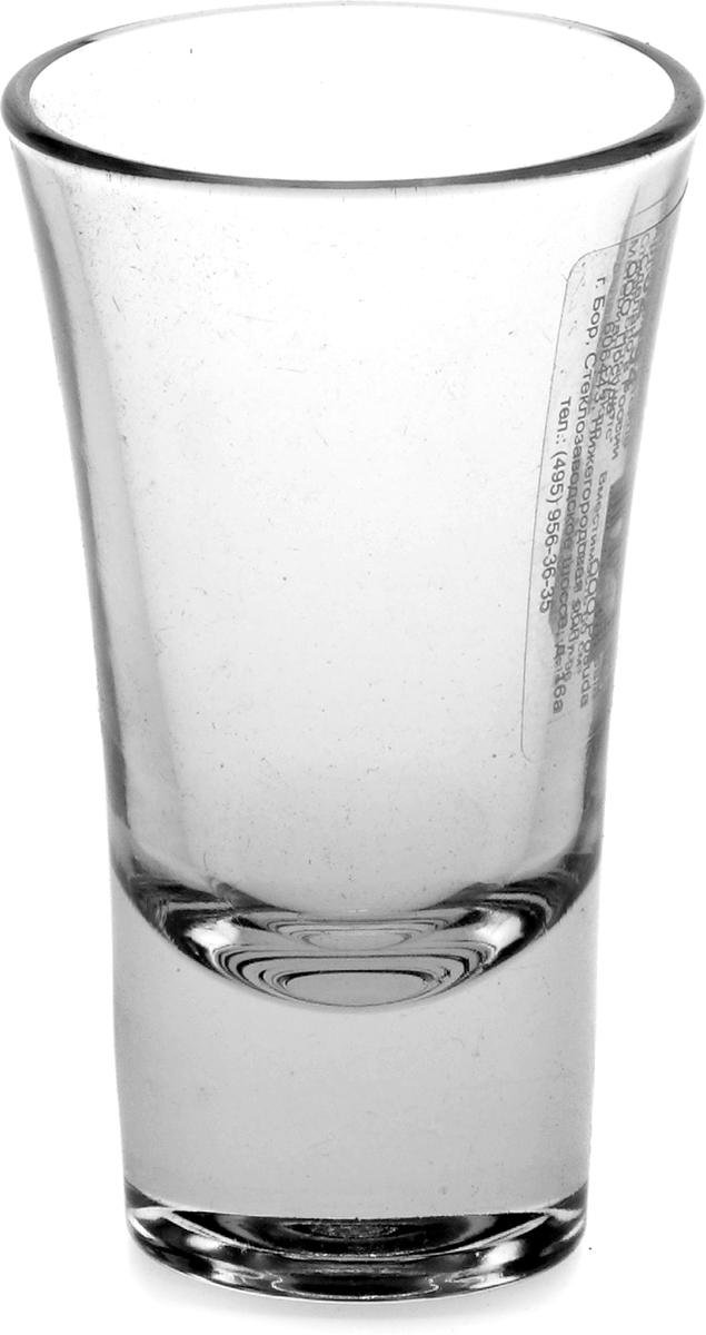 """Стопка Pasabahce """"Бостон шотс"""" выполнена из силикатного стекла.  Объем: 60 мл.   Высота стопки - 90 мм."""