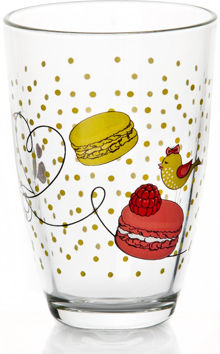 Стакан Pasabahce Дольче, 360 мл52555SLBD1Стакан Pasabahce Дольче выполнен из силикатного стекла. Стакан прозрачный с разноцветным рисунком. Высота стакана - 120 мм.