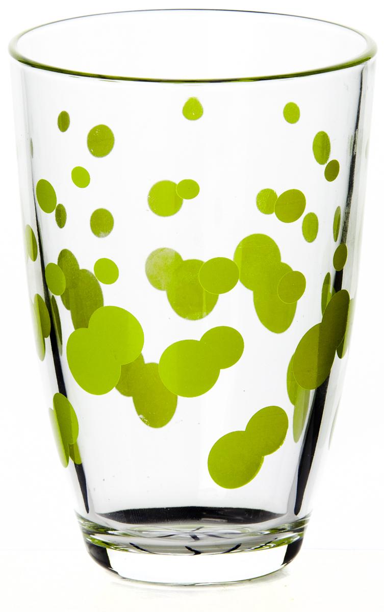 Стакан Pasabahce Джаз, цвет: зеленый, 360 мл52555SLBD6Стакан Pasabahce Джаз выполнен из силикатного стекла.Высота стакана - 120 мм, диаметр - 85 мм.