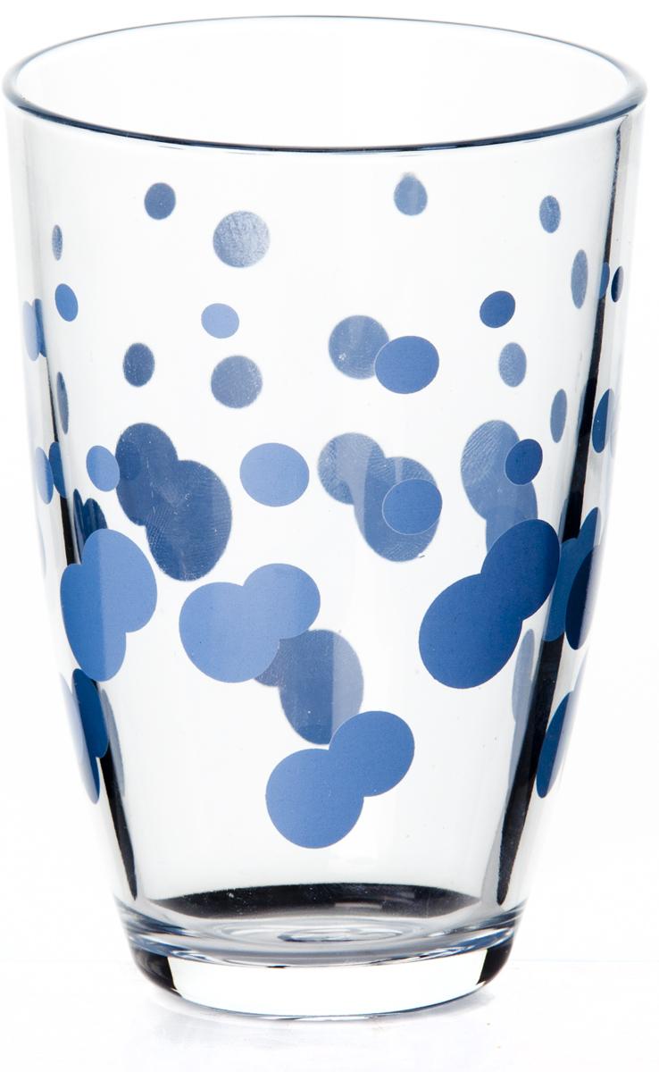 Стакан Pasabahce Джаз, цвет: синий, 360 мл стакан pasabahce стамбул 190 мл