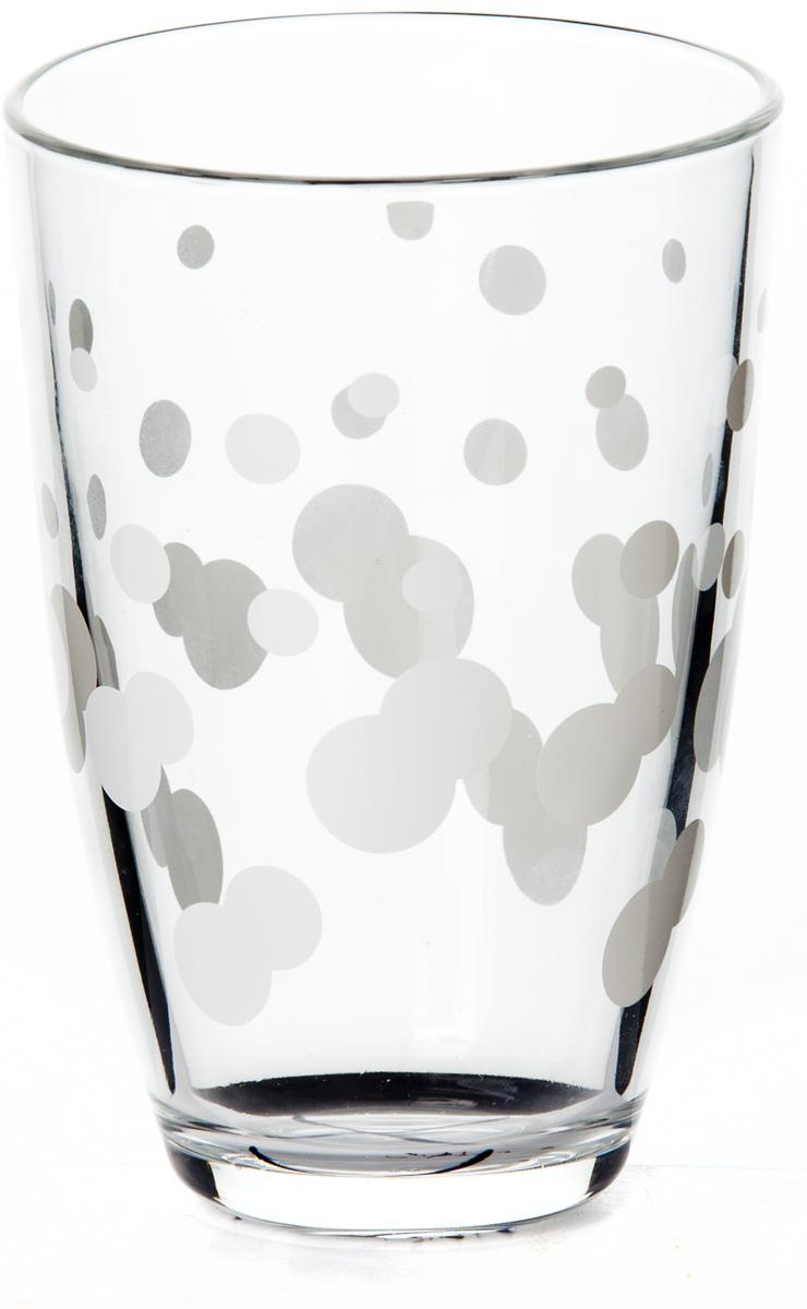 Стакан Pasabahce Джаз, цвет: белый, 360 мл