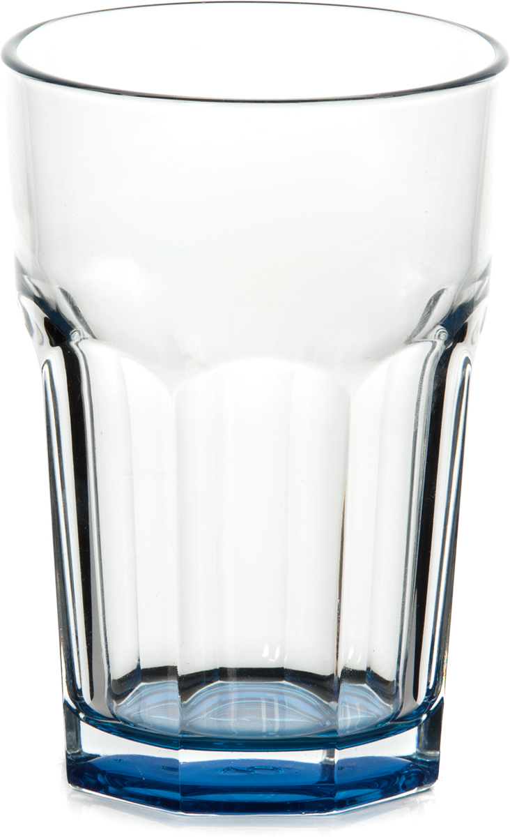 Стакан Pasabahce Энжой Блю, 355 мл52708SLBD12Стакан Pasabahce Энжой Блю выполнен из силикатного стекла. Стакан прозрачный. Дно стакана синего цвета. Объем - 355 мл.