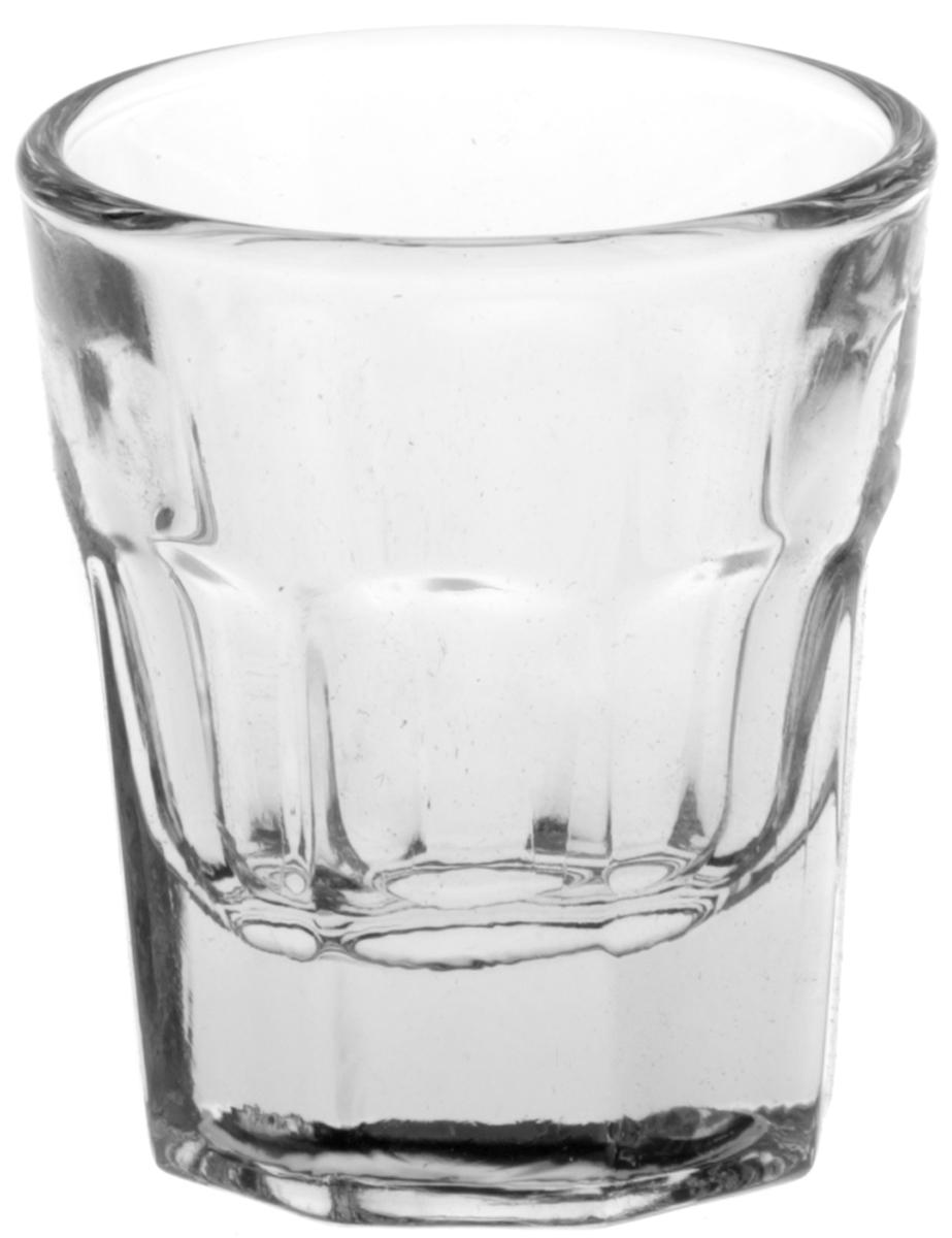 Набор стопок Pasabahce Касабланка, 37 мл, 6 шт набор стаканов pasabahce касабланка 280 мл 6 шт