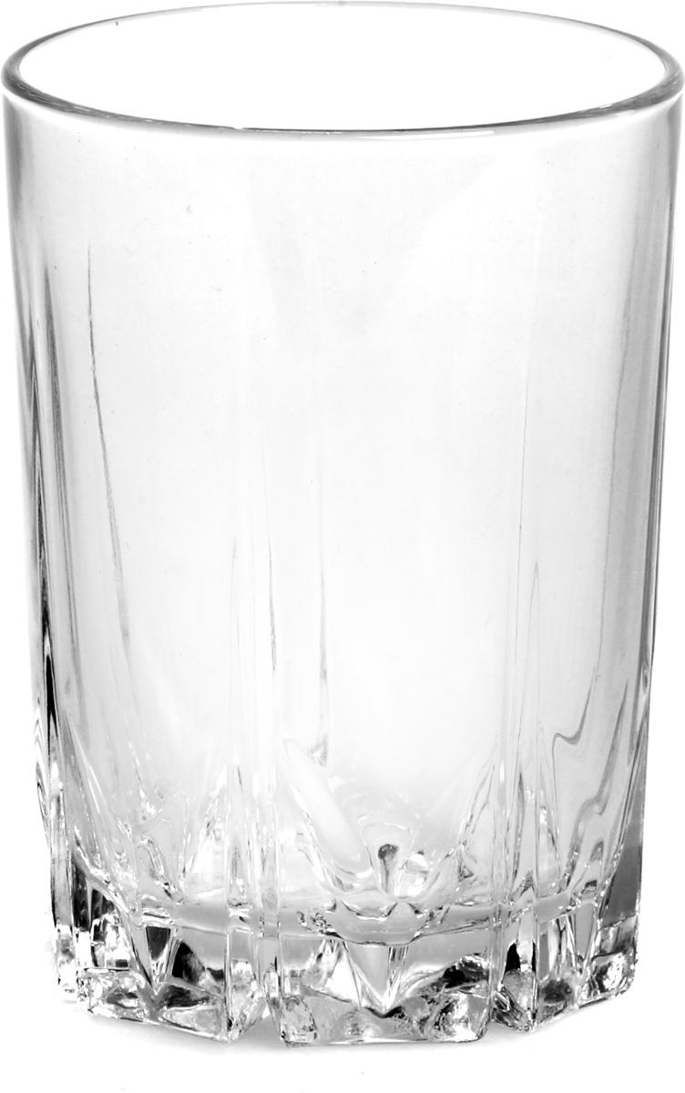 """Стакан Pasabahce """"Карат"""" выполнен из силикатного стекла.  Объем - 239 мл.  Высота стакана - 10 см."""