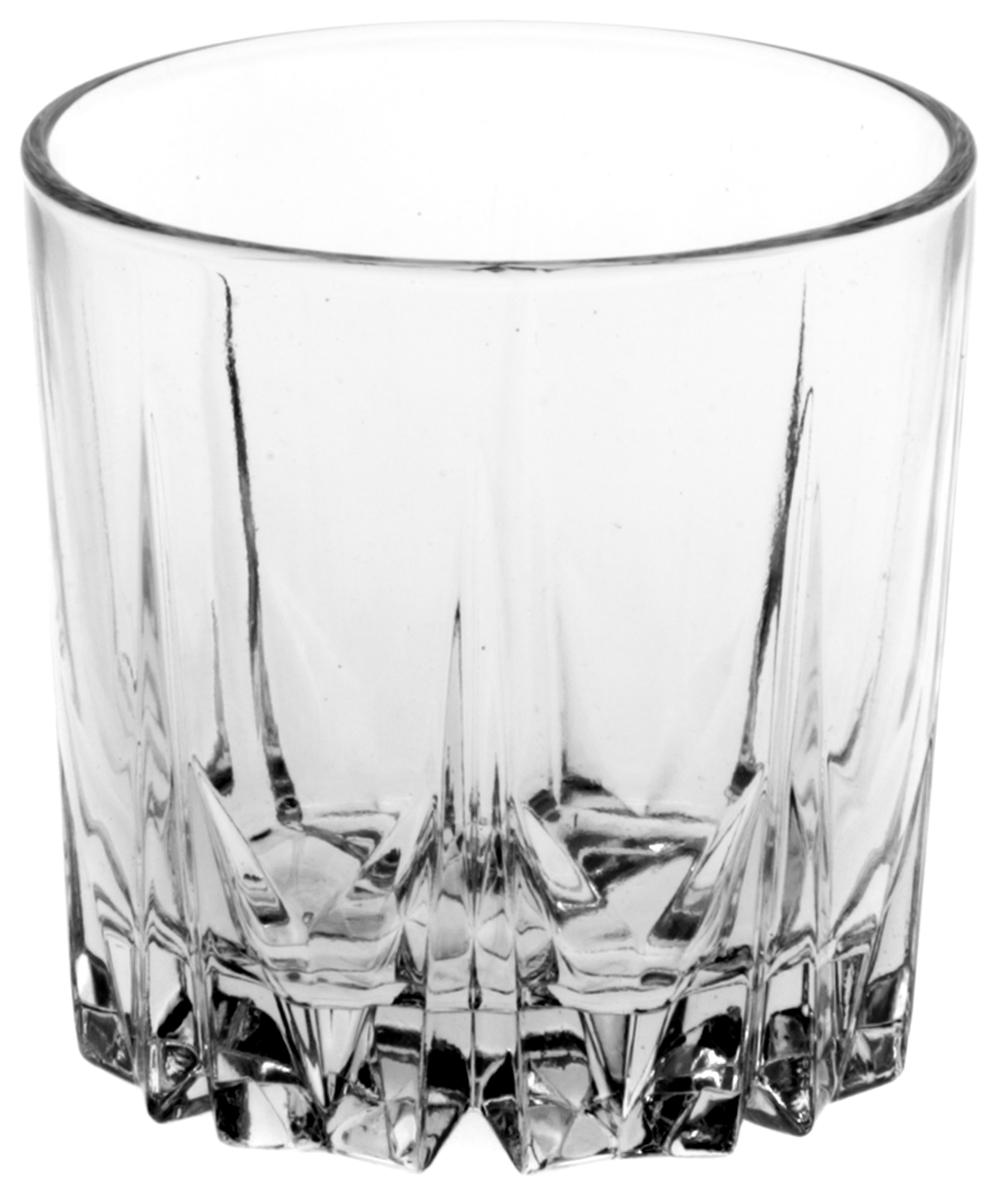"""Стакан Pasabahce """"Карат"""" выполнен из силикатного стекла.  Объем - 200 мл.  Высота стакана - 8 см."""