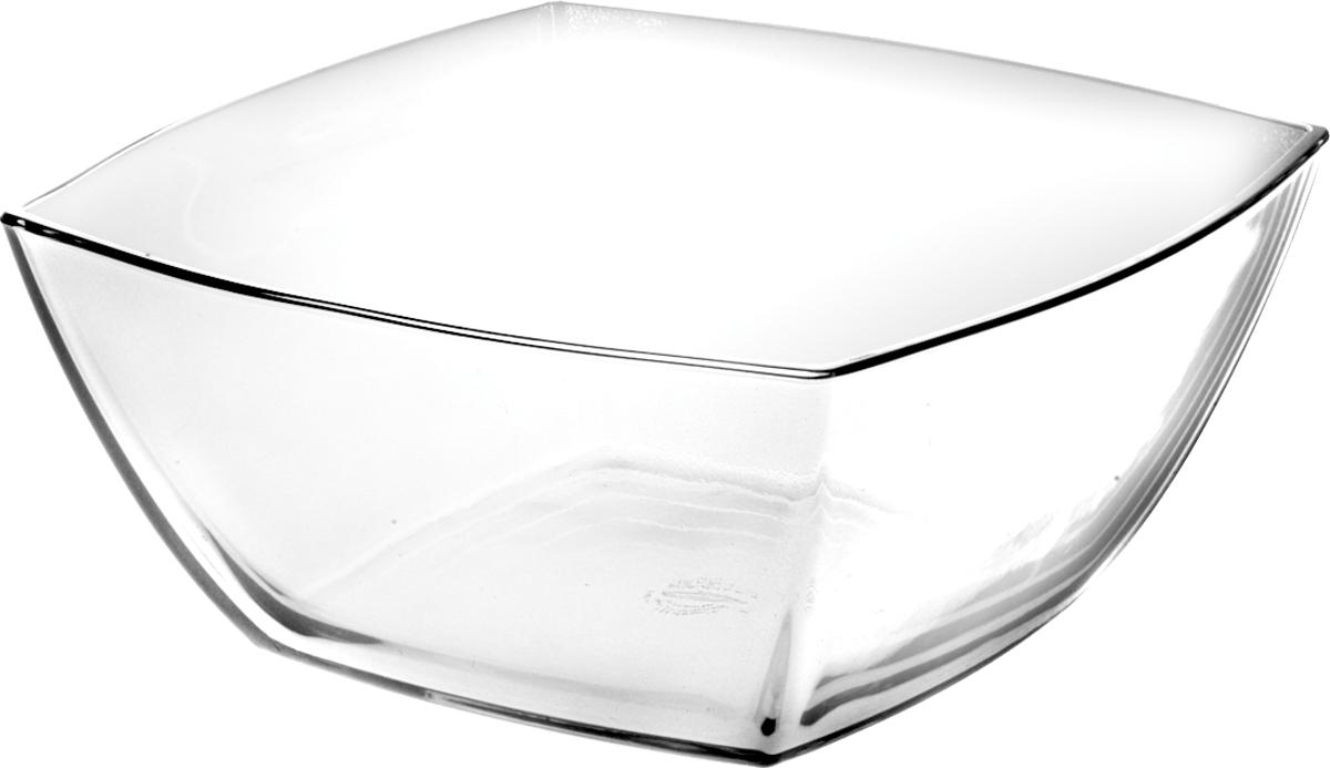 Салатник Pasabahce Токио, 12,5 х 12,5 см53056SLBСалатник Pasabahce Tokio выполнен из высококачественного натрий-кальций-силикатного стекла. Такой салатник прекрасно подойдет для сервировки стола и станет достойным оформлением для ваших любимых блюд.