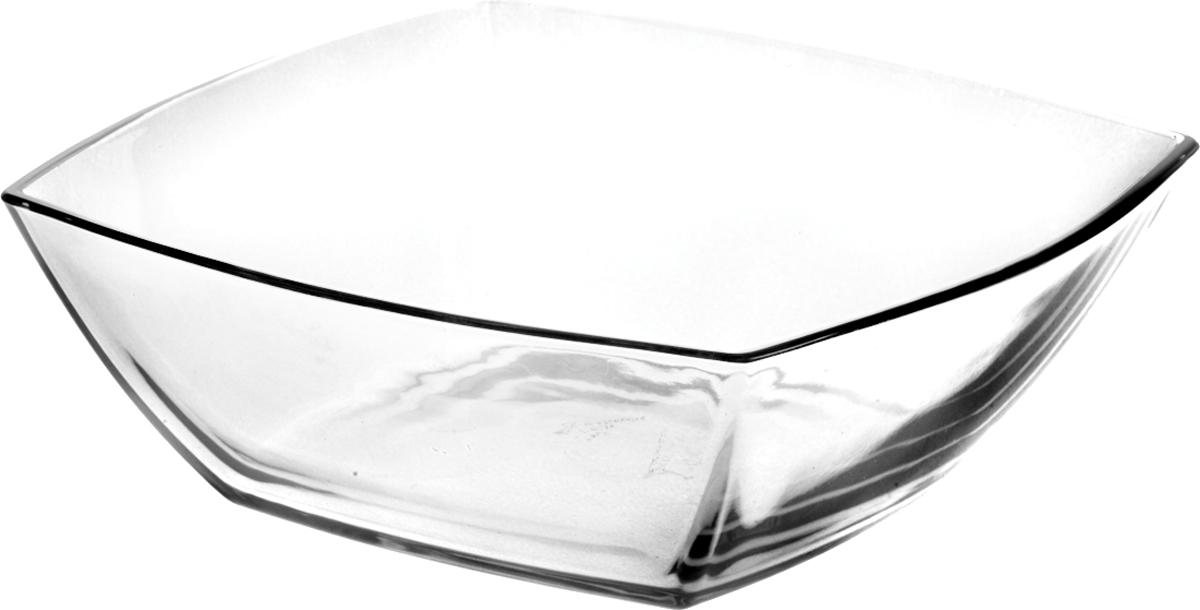 Салатник Pasabahce Токио, 24 х 24 см53076SLBСалатник Pasabahce Tokio выполнен из высококачественного натрий-кальций-силикатного стекла. Такой салатник прекрасно подойдет для сервировки стола и станет достойным оформлением для ваших любимых блюд.