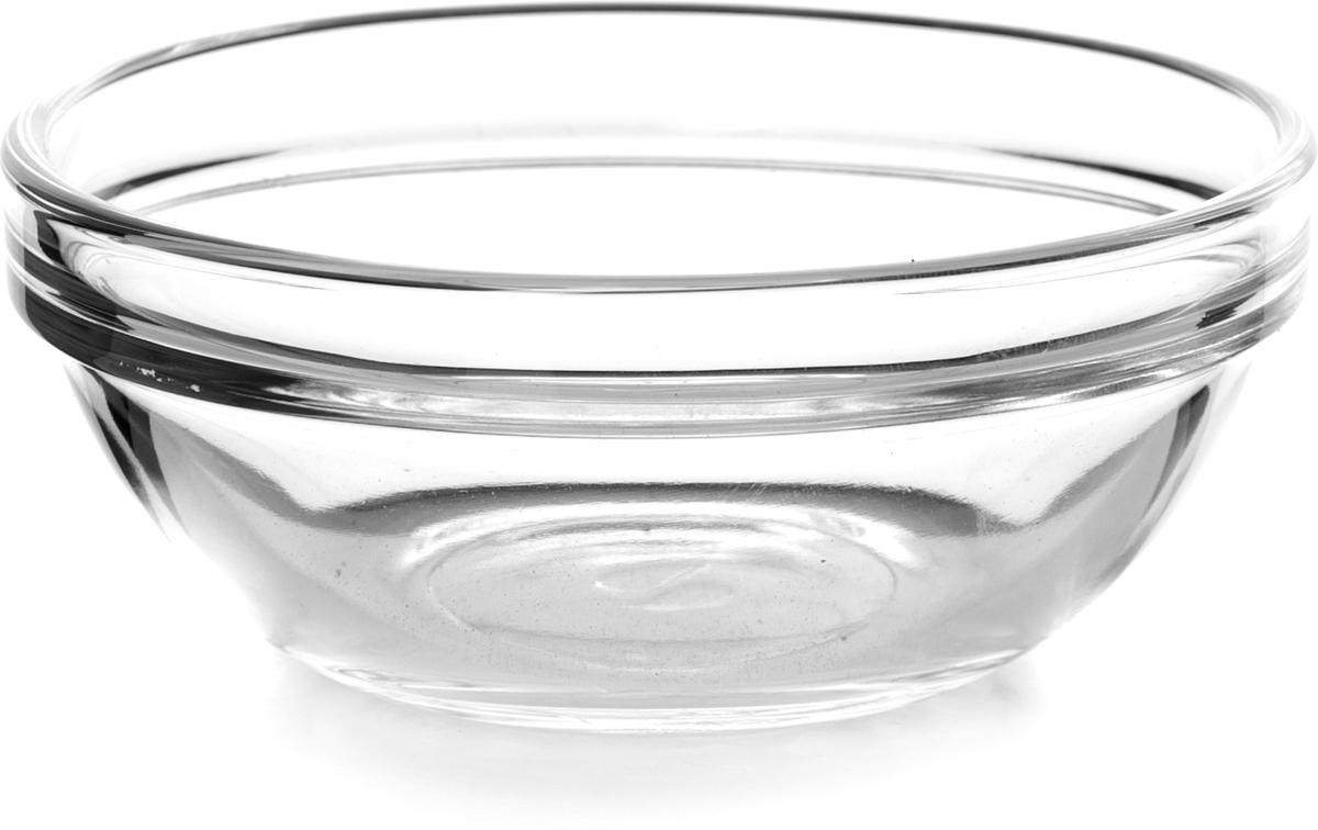 Салатник Pasabahce Шефс, диаметр 9 см53483SLBTСалатник Шефс выполнен из прочного натрий-кальций-силикатного стекла. Такой салатник отлично подойдет для сервировки закусок, нарезок, салатов и других блюд.Можно мыть в посудомоечной машине и использовать в микроволновой печи.