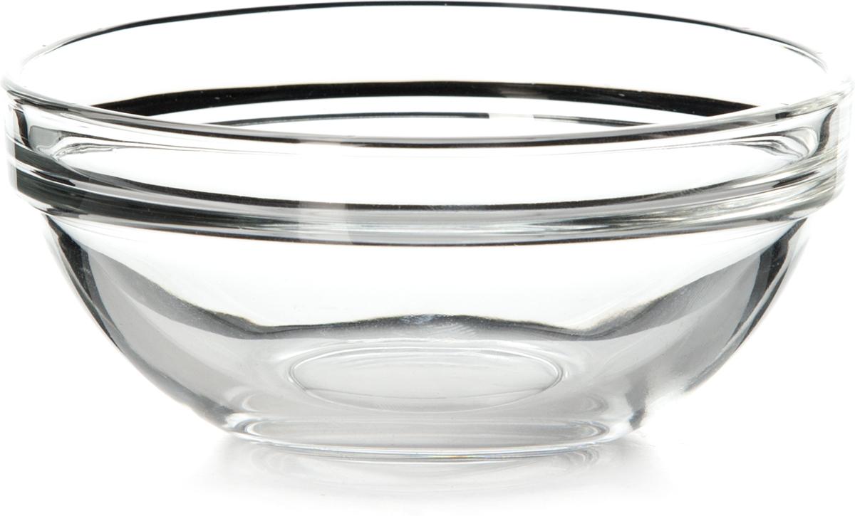 Салатник Pasabahce Шефс, диаметр 12 см53543SLBTСалатников Шефс выполнен из прочного натрий-кальций-силикатного стекла. Такой салатник отлично подойдет для сервировки закусок, нарезок, салатов и других блюд.Можно мыть в посудомоечной машине и использовать в микроволновой печи.