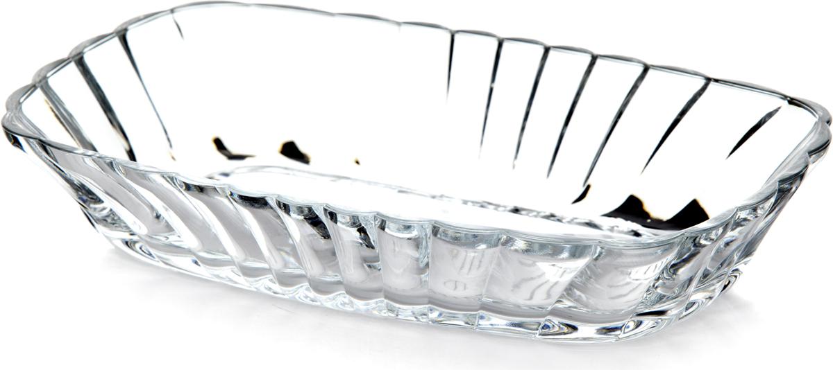 Салатник Pasabahce Меззе, 19 х 12,2 см53712SLBСалатник Меззе прямоугольной формы изготовлен из прозрачного стекла. Идеально подойдет для сервировки стола и станет отличным подарком к любому празднику.
