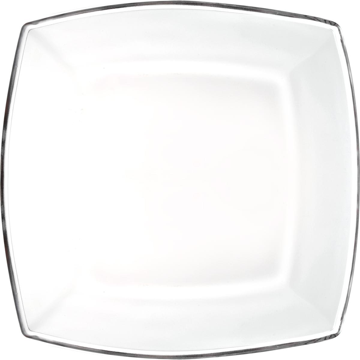 Тарелка Pasabahce Токио, 19,5 х 19,5 см54077SLBТарелка TOKIO, 195 х 195 мм, прозрачное стекло
