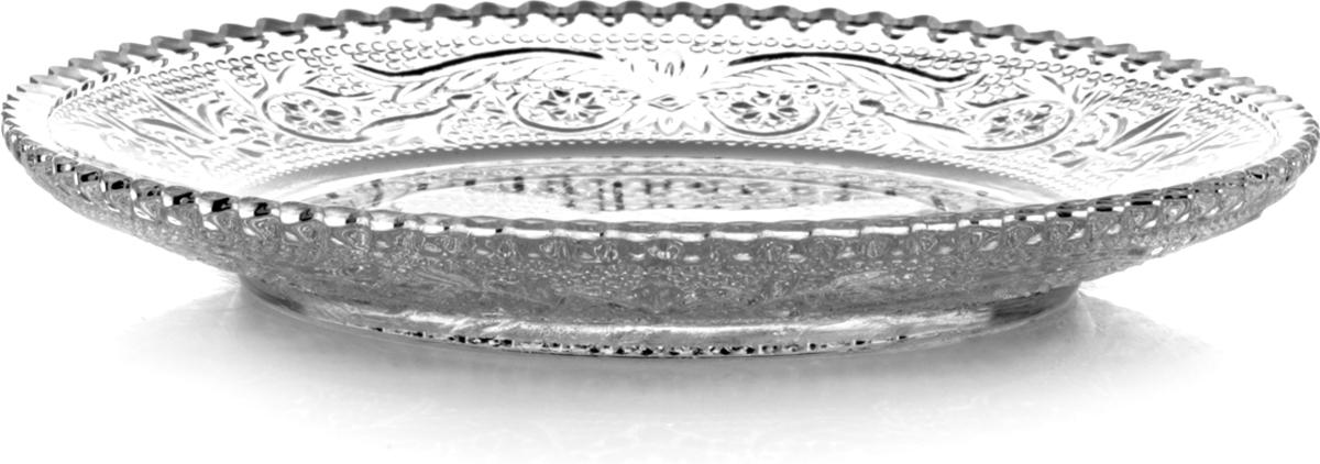 Набор тарелок Pasabahce Konya, диаметр 14,9 см, 6 шт54302BТурецкая компания Pasabahce существует на мировом рынке уже полвека и успешно реализует стеклянную посуду более чем в ста странах мира. Современный дизайн, доступные цены и высокое качество стеклянных изделий позволили этой марке завоевать популярность и у барменов, и у домохозяек. Набор тарелок Pasabahce с рифлеными стенками и украшенным резным орнаментом дном, выполнен из упрочненного непористого стекла. Изящные тарелки позволят красиво сервировать стол и послужат элегантным элементом декора. В наборе шесть тарелок. Их можно мыть в посудомоечной машине и использовать в микроволновой печи.