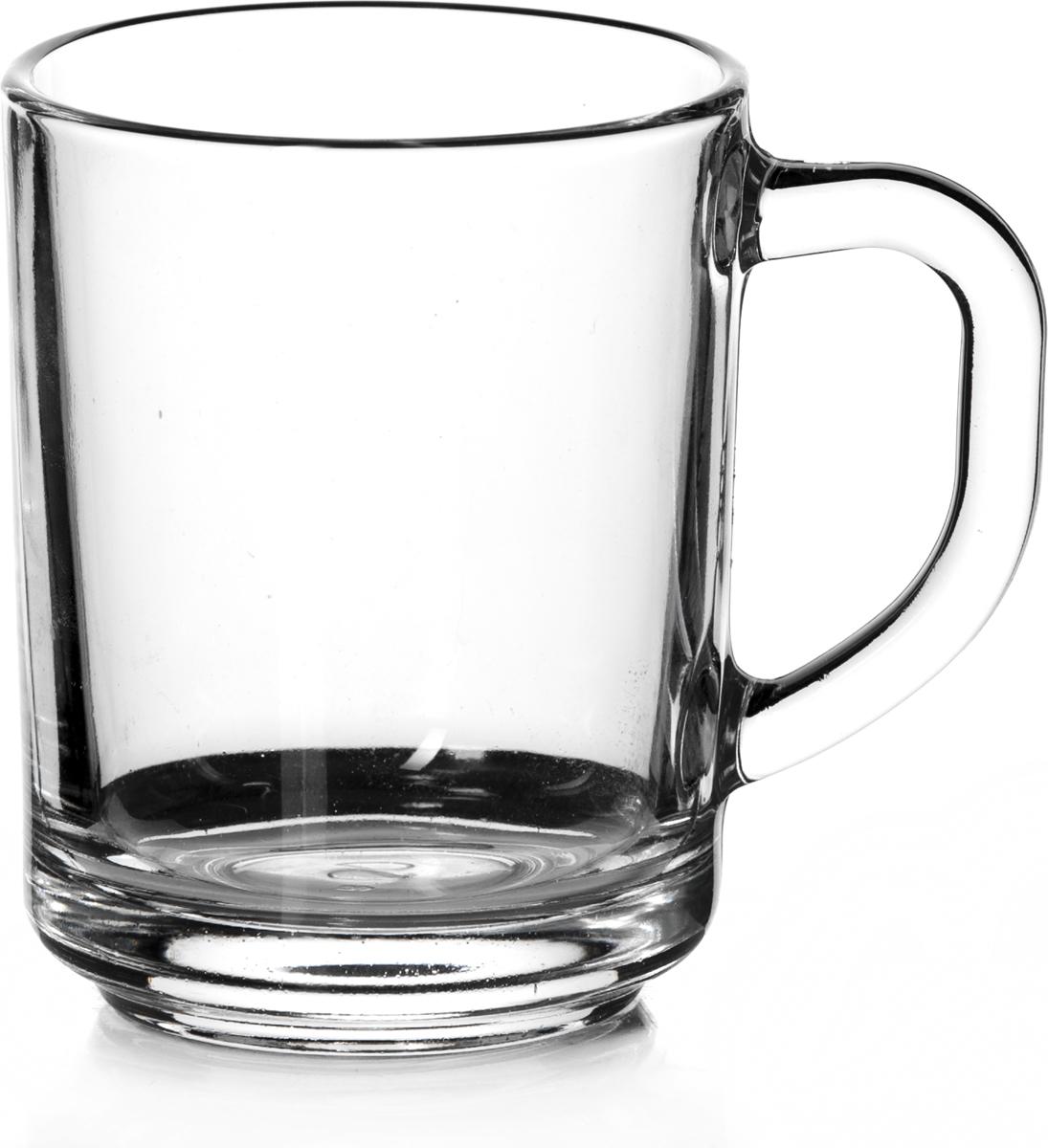 """Кружка Pasabahce """"Паб"""" с ручкой для чая, прозрачная из закаленного стекла идеально подходит для сервировки стола. Кружка не только украсит ваш кухонный стол, но и подчеркнет прекрасный вкус хозяйки."""