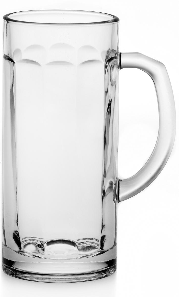 Набор кружек для пива Pasabahce Pub, 380 мл, 2 шт55109BНабор кружек для пива, 2 шт, V-330 мл, h-160 мм, прозрачное стекло