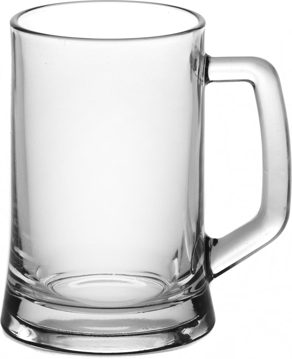 """Пивная кружка """"Паб"""" - это не просто емкость для пенного напитка, это качественное изделие и прекрасный подарок для настоящего ценителя. Такая пивная кружка превращает распитие пива в настоящий ритуал, а форма кружки позволяет пиву дольше сохранять свой аромат. Кружка выполнена из высококачественного стекла, долговечного и износостойкого. Пивная кружка """"Паб"""" станет прекрасным пополнением вашей коллекции. Объем: 660 мл. Высота кружки: 15 см."""