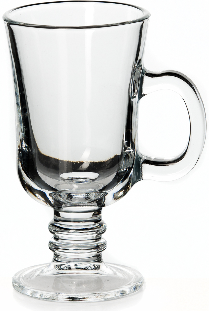 Кружка Pasabahce Паб55341SLBTКружка Pasabahce Паб с ручкой для чая из прозрачного закаленного стекла, V-215 мл