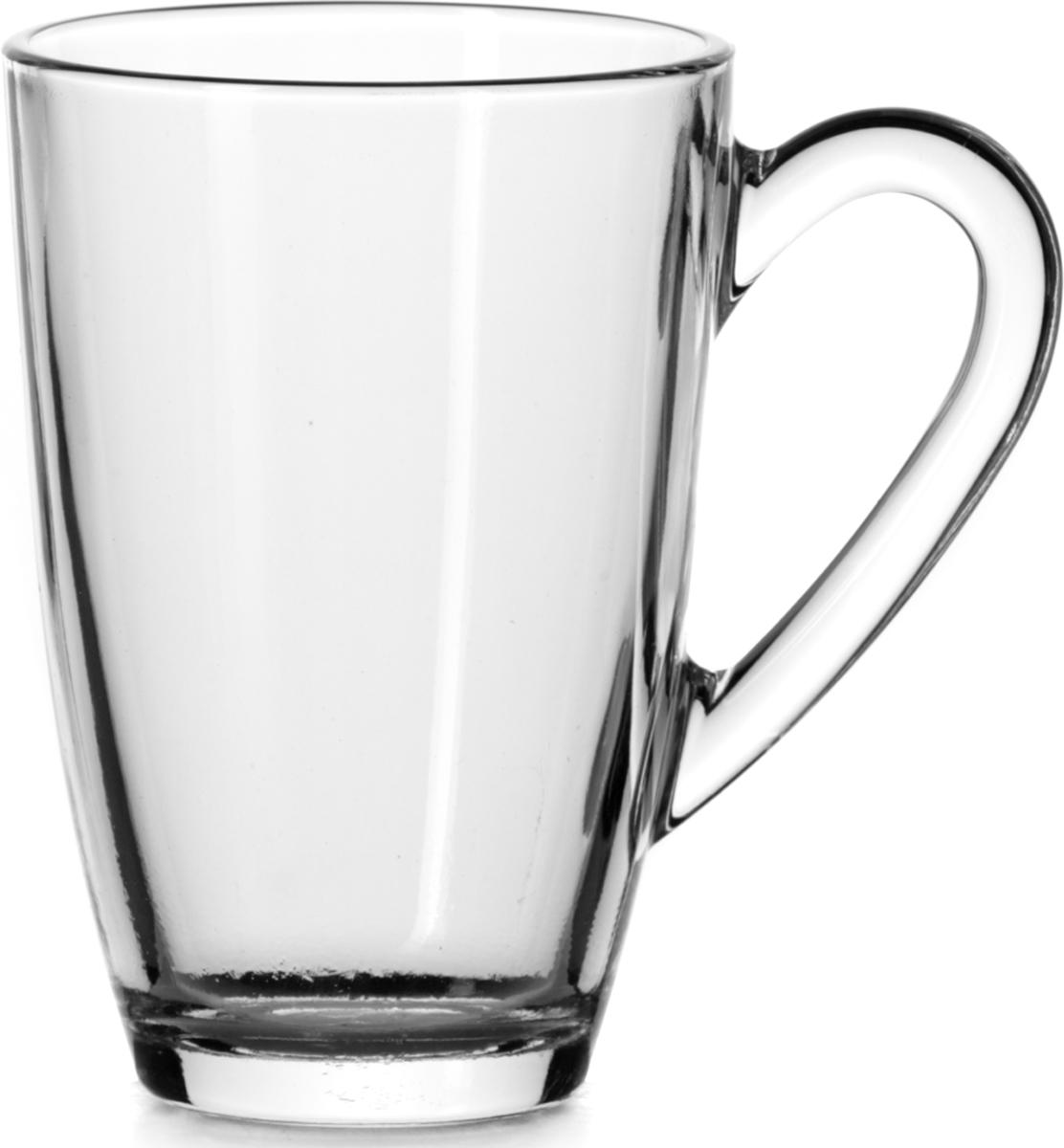 """Набор Pasabahce """"Aqua"""" состоит из двух кружек с удобными ручками, выполненных из прочного натрий-кальций-силикатного стекла. Изделия хорошо удерживают тепло, не нагреваются. Посуда Pasabahce будет радовать вас оригинальным дизайном и качеством изготовления."""