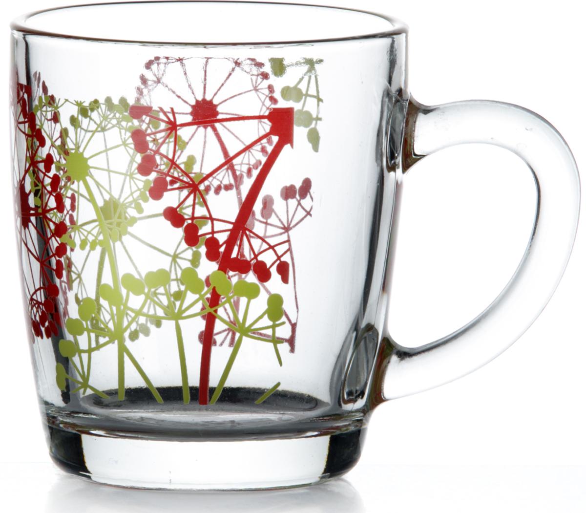 Кружка Pasabahce Фазенда, 350 мл55531SLBD8Кружка Pasabahce Фазенда изготовлена из прозрачного стекла и украшена красивым рисунком. Изделие идеально подходит для сервировки стола.