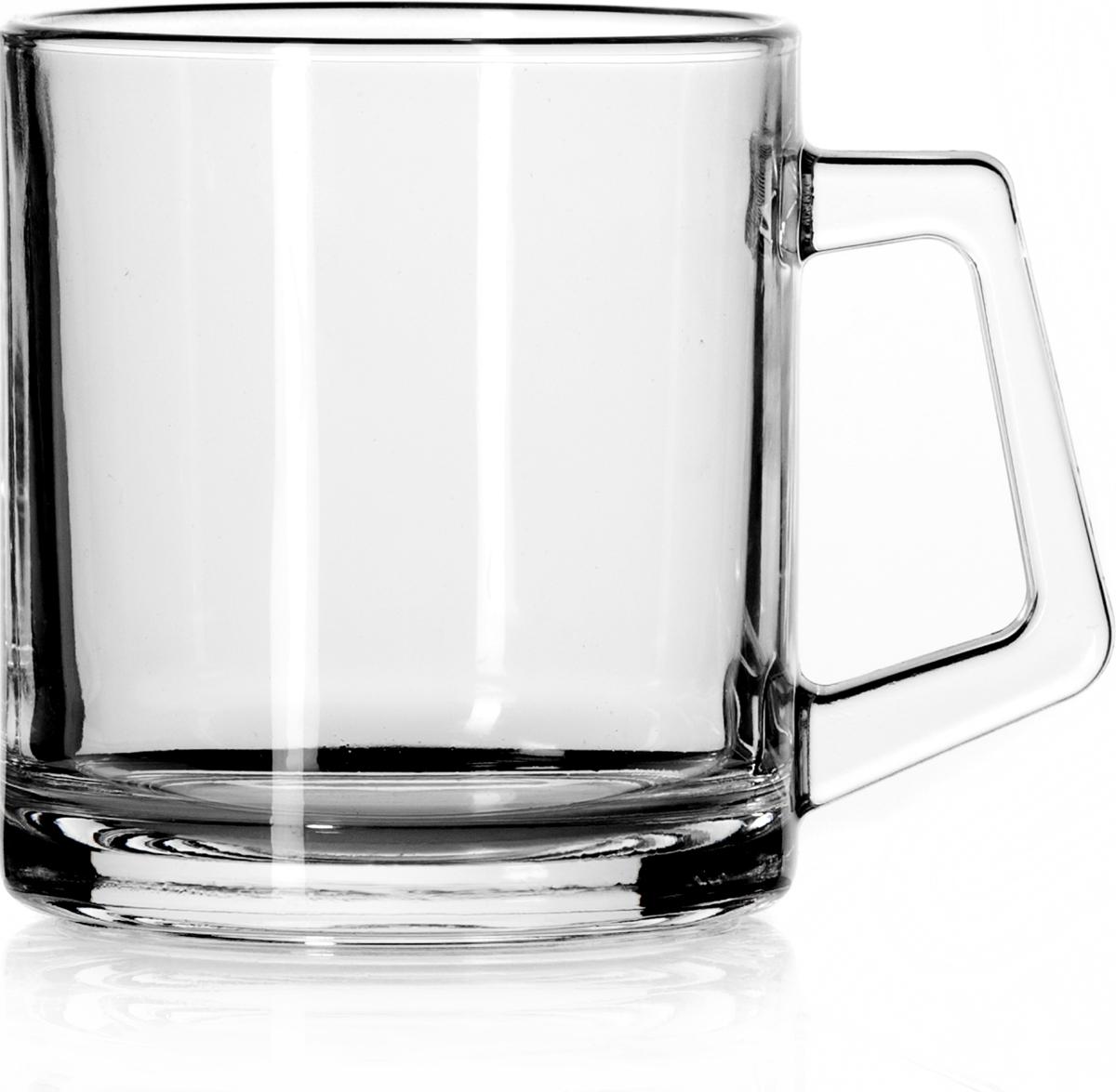 """Набор Pasabahce """"Basic"""" состоит из двух кружек с удобными ручками, выполненных из прочного натрий-кальций-силикатного стекла. Изделия хорошо удерживают тепло, не нагреваются. Посуда Pasabahce будет радовать вас оригинальным дизайном и качеством изготовления."""