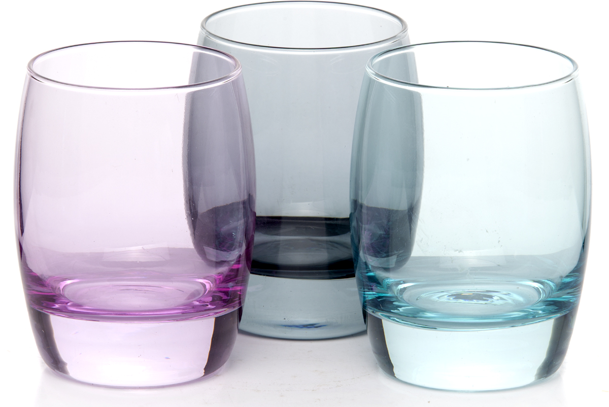 """Набор Pasabahce """"Энжой Лофт"""" состоит из 3 стаканов, выполненных из цветного закаленного натрий-кальций-силикатного стекла. Изделия прекрасно подойдут для подачи холодных напитков. Набор разноцветных стаканов Pasabahce """"Aquatic"""" украсит ваш стол и станет отличным подарком к любому празднику."""