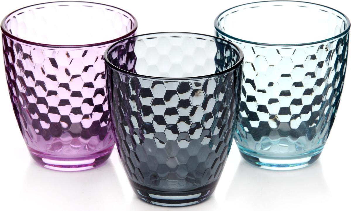 Набор стаканов Pasabahce Энжой Лофт, 280 мл, 3 шт набор шкатулок для рукоделия bestex 3 шт zw001250