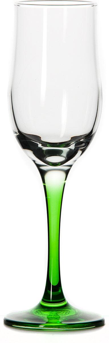 Бокал Pasabahce Энжой Грин, цвет: зеленый, 200 мл44160SLBD8Бокал для шампанского Pasabahce Энжой Грин с зеленой ножкой изготовлен из качественного силикатного стекла, которое отличается прочностью и износостойкостью. Он сочетает в себе элегантный дизайн и функциональность.Благодаря такому бокалу пить напитки будет еще вкуснее. Бокал Pasabahce Энжой Грин прекрасно оформит праздничный стол и создаст приятную атмосферу за романтическим ужином.