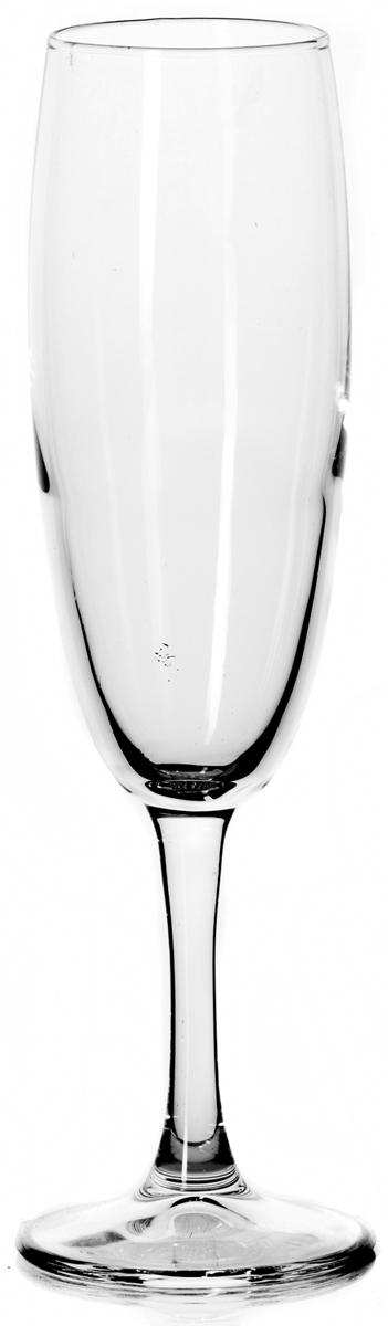 """Бокал Pasabahce """"Классик"""" изготовлен из качественного силикатного стекла, которое отличается прочностью и износостойкостью. Бокал предназначен для подачи шампанского. Он сочетает в себе элегантный дизайн и функциональность.  Благодаря такому бокалу пить напитки будет еще вкуснее. Бокал Pasabahce """"Классик"""" прекрасно оформит праздничный стол и создаст приятную атмосферу за романтическим ужином.  Высота бокала: 21,5 см."""