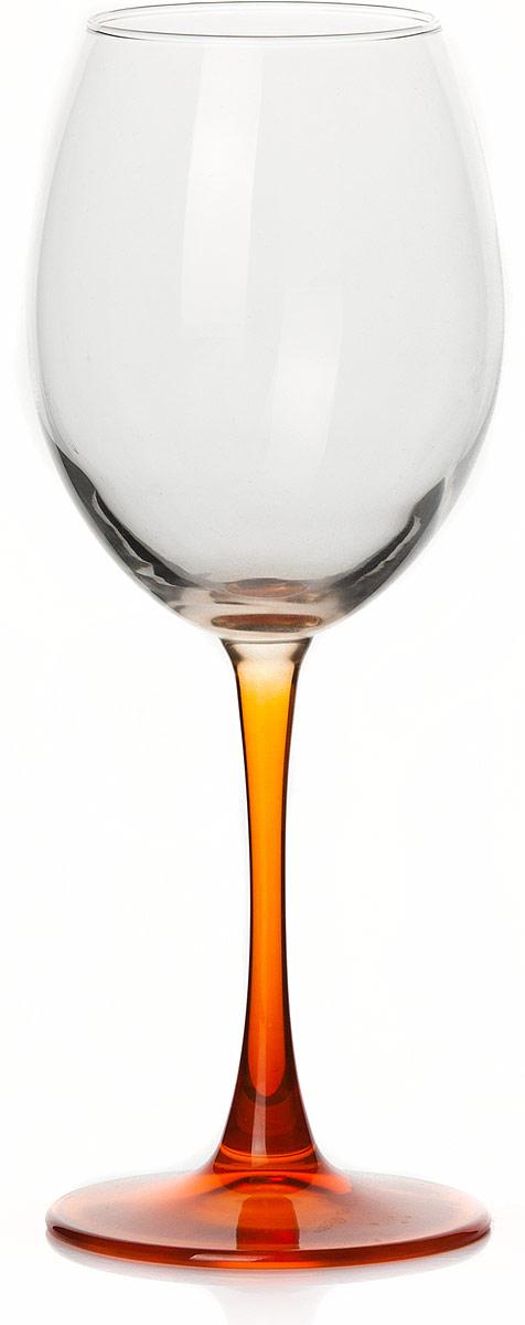 Бокал Pasabahce Энжой Оранж, цвет: оранжевый, 440 мл44728SLBD1Бокал Pasabahce Энжой Оранж с оранжевой ножкой изготовлен из качественного силикатного стекла, которое отличается прочностью и износостойкостью. Бокал предназначен для подачи вина. Он сочетает в себе элегантный дизайн и функциональность.Благодаря такому бокалу пить напитки будет еще вкуснее. Бокал Pasabahce Энжой Оранж прекрасно оформит праздничный стол и создаст приятную атмосферу за романтическим ужином.
