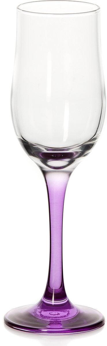 Бокал Pasabahce Энжой Пепл, цвет: фиолетовый, 200 мл44160SLBD11Бокал для шампанского Pasabahce Энжой Пепл с фиолетовой ножкой изготовлен из качественного силикатного стекла, которое отличается прочностью и износостойкостью. Он сочетает в себе элегантный дизайн и функциональность.Благодаря такому бокалу пить напитки будет еще вкуснее. Бокал Pasabahce Энжой Пепл прекрасно оформит праздничный стол и создаст приятную атмосферу за романтическим ужином.