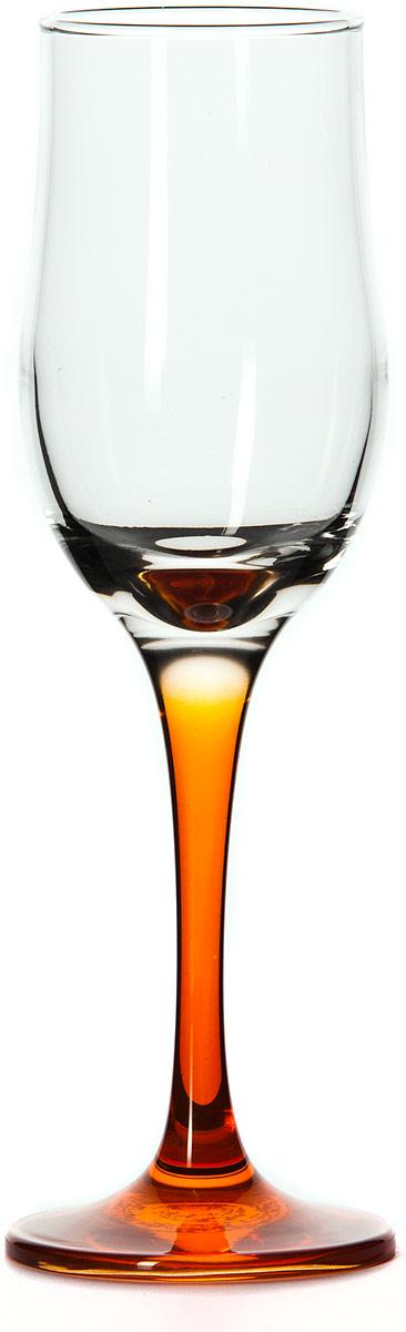 Бокал Pasabahce Энжой Оранж, цвет: оранжевый, 200 мл44160SLBD7Бокал для шампанского Pasabahce Энжой Оранж с оранжевой ножкой изготовлен из качественного силикатного стекла, которое отличается прочностью и износостойкостью. Он сочетает в себе элегантный дизайн и функциональность.Благодаря такому бокалу пить напитки будет еще вкуснее. Бокал Pasabahce Энжой Оранж прекрасно оформит праздничный стол и создаст приятную атмосферу за романтическим ужином.