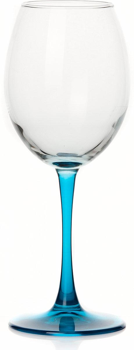 Бокал Pasabahce Энжой Блю, цвет: синий, 440 мл44728SLBD5Бокал Pasabahce Энжой Блю с синей ножкой изготовлен из качественного силикатного стекла, которое отличается прочностью и износостойкостью. Бокал предназначен для подачи вина. Он сочетает в себе элегантный дизайн и функциональность.Благодаря такому бокалу пить напитки будет еще вкуснее. Бокал Pasabahce Энжой Блю прекрасно оформит праздничный стол и создаст приятную атмосферу за романтическим ужином.