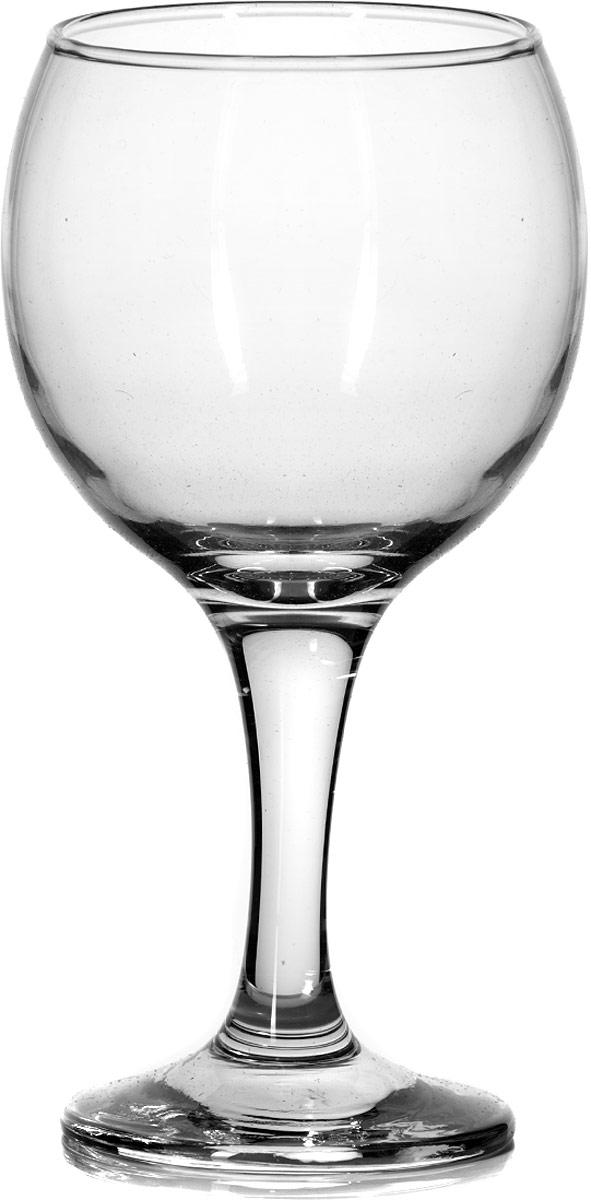 """Бокал Pasabahce """"Бистро"""" изготовлен из качественного силикатного стекла, которое отличается прочностью и износостойкостью. Бокал предназначен для подачи вина. Он сочетает в себе элегантный дизайн и функциональность.  Благодаря такому бокалу пить напитки будет еще вкуснее. Бокал Pasabahce """"Бистро"""" прекрасно оформит праздничный стол и создаст приятную атмосферу за романтическим ужином.  Высота бокала 16 см."""