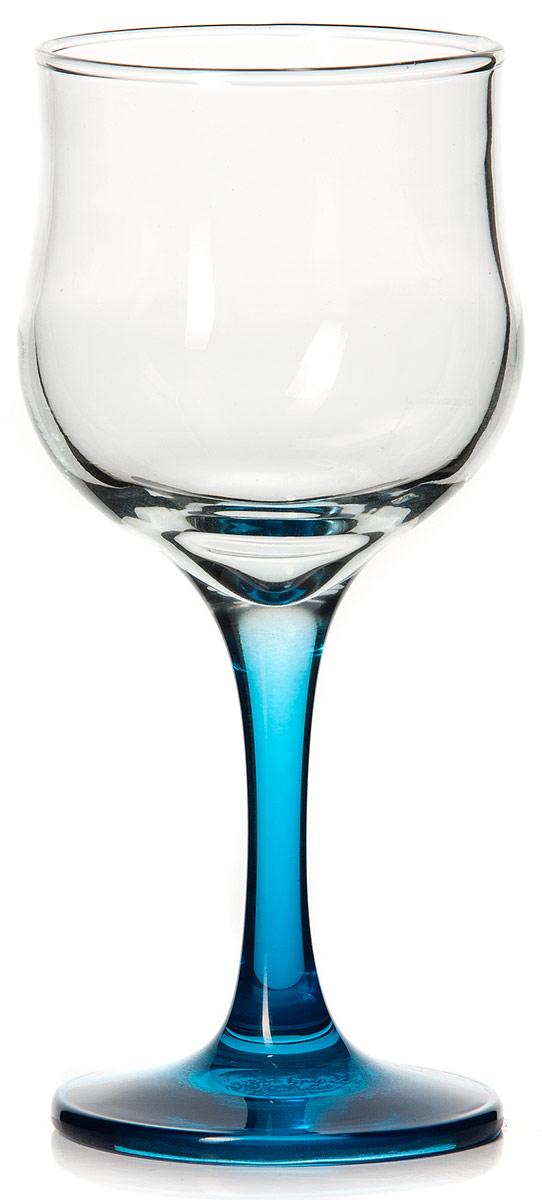 Бокал Pasabahce Энжой Блю, цвет: синий, 200 мл