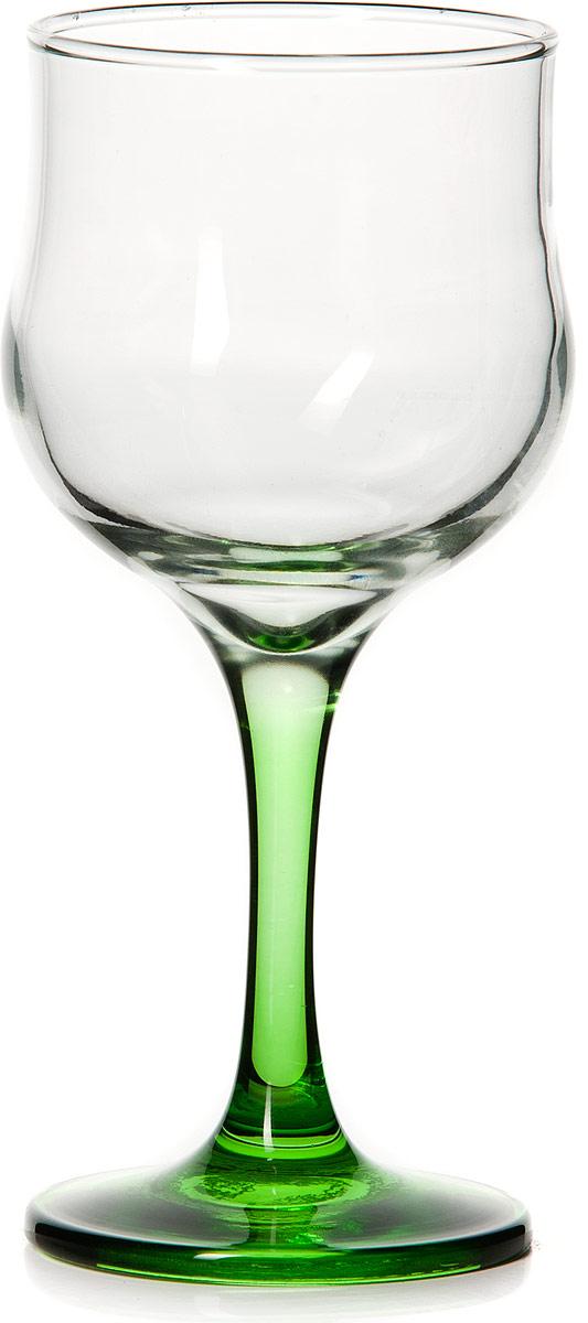 Бокал Pasabahce Энжой Грин, цвет: зеленый, 200 мл44167SLBD8Бокал Pasabahce Энжой Грин с зеленой ножкой изготовлен из качественного силикатного стекла, которое отличается прочностью и износостойкостью. Бокал предназначен для подачи вина. Он сочетает в себе элегантный дизайн и функциональность.Благодаря такому бокалу пить напитки будет еще вкуснее. Бокал Pasabahce Энжой Грин прекрасно оформит праздничный стол и создаст приятную атмосферу за романтическим ужином.