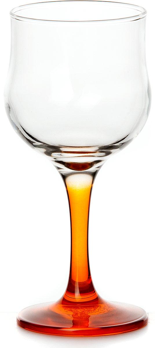 Бокал Pasabahce Энжой Оранж, цвет: оранжевый, 200 мл44167SLBD7Бокал Pasabahce Энжой Оранж с оранжевой ножкой изготовлен из качественного силикатного стекла, которое отличается прочностью и износостойкостью. Бокал предназначен для подачи вина. Он сочетает в себе элегантный дизайн и функциональность.Благодаря такому бокалу пить напитки будет еще вкуснее. Бокал Pasabahce Энжой Оранж прекрасно оформит праздничный стол и создаст приятную атмосферу за романтическим ужином.