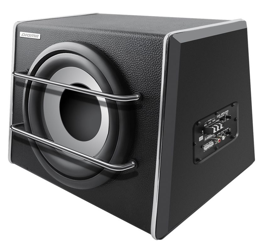Digma DCS-120, Black сабвуфер автомобильный - Акустика и видео - Автоакустика и усилители