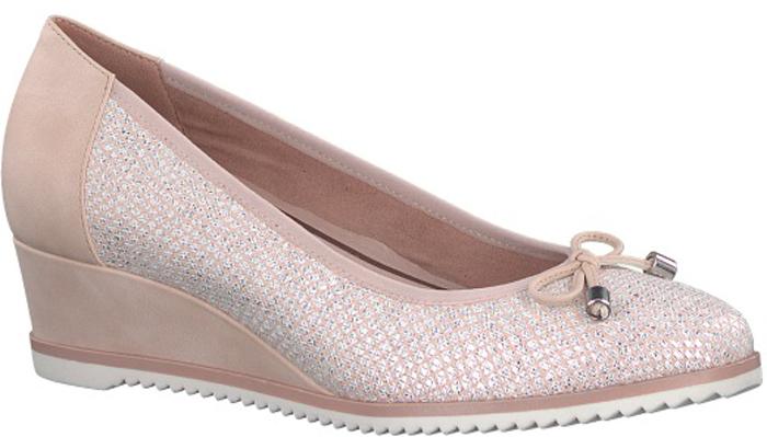 Туфли женские Tamaris, цвет: бежево-розовый. 1-1-22303-20-579/220. Размер 40