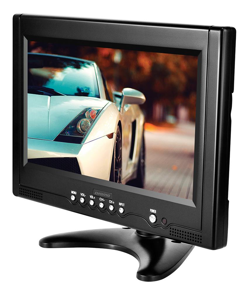 Digma DCL-920, Black автомобильный телевизорDCL-920Портативный ТВ Digma DCL-920 9 16:9 черный
