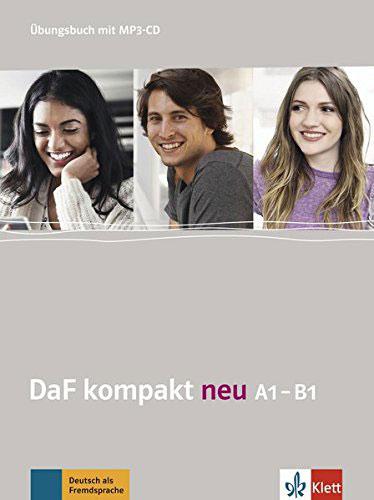 DaF kompakt neu A1-B1: Ubungsbuch (+ CD) magnet neu kursbuch a1 cd