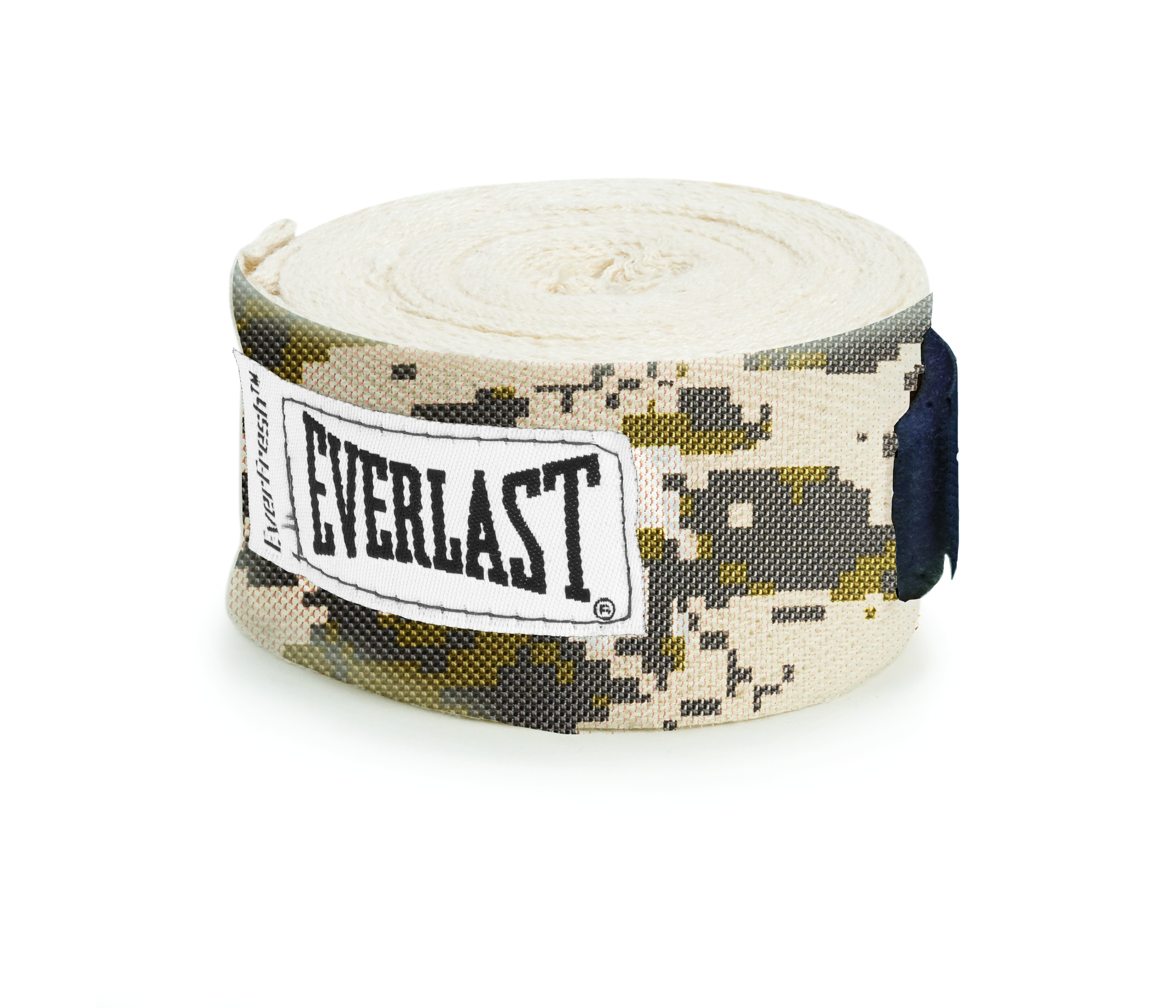 Бинт боксерский Everlast, цвет: милитари, длина 4,55 м1300005Бинт боксерский Everlast выполнен из нейлона и полиэстера, для оптимального растяжения. Снабжен удобной петлей для большого пальца и креплением липучка.