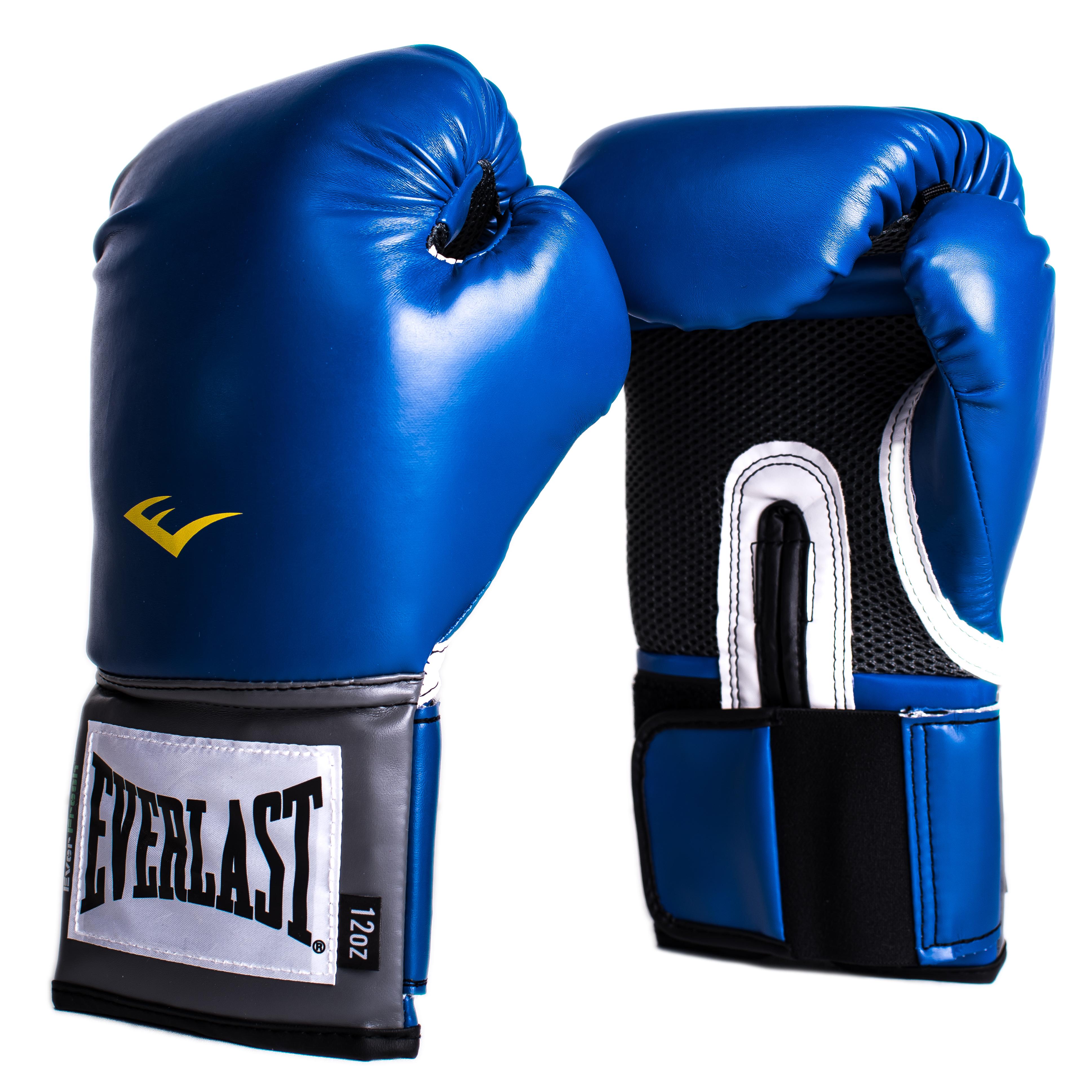 Перчатки тренировочные Everlast Pro Style Anti-MB, цвет: синий. Вес 8 унций2208YUОптимальные перчатки Everlast Pro Style Anti-MB для начинающих спортсменов. Анатомически правильное внутреннее пространство перчатки обеспечивает правильное положение кисти. Плотный, инновационный двухслойный пенный наполнитель обеспечивает лучшую поглотительную способность и полную защиту ударной части кисти. ThumbLok обеспечивает безопасное положение большого пальца. Сделаны из высокотехнологичной износостойкой синтетической кожи.