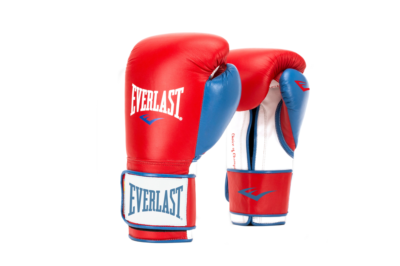 Перчатки тренировочные Everlast Powerlock, цвет: красный, синий. Вес 14 унцийP00000729Новая линейка тренировочных перчаток для бокса PowerLock. Изготовлены из искусственной кожи в обновленной цветовой гамме. Являются сочетанием инновационных технологий изготовления и традиционной передовой технологии PowerLock.